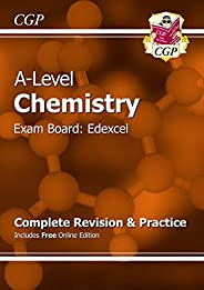A-Level Chemistry: Edexcel Year 1 & 2 Complete Revision & Practice with Online