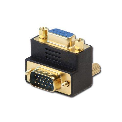 LINDY 70387 - VGA Winkeladapter 90 Grad nach unten - 90-grad-vga-kabel