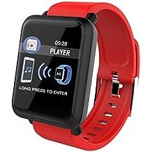 Reloj Inteligente Deportivo 1.3 Pantalla Táctil Podómetro Fitness Tracker Pulsómetro Monitor De Sueño Cámara Bluetooth GPS