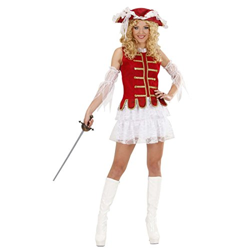Musketier Mittelalterkostüm Piratenkleid Mittelalter L 42/44 Piratinnenkostüm Frauen Piratin Kostüm Historische Kostüme Damen Sexy Piratenoutfit Musketierkostüm (Frauen Historische Für Kostüme)
