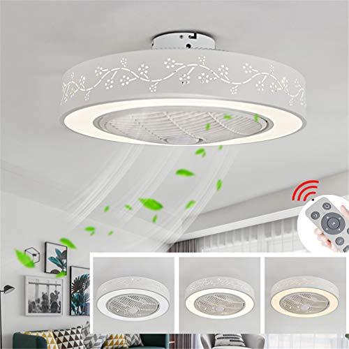 ZLQ LED Fan Deckenleuchte, Moderne Dimmbar Deckenventilator Mit Beleuchtung Fernbedienung Einstellbare Windgeschwindigkeit Deckenlampe Für Kinder Schlafzimmer Wohnzimmer