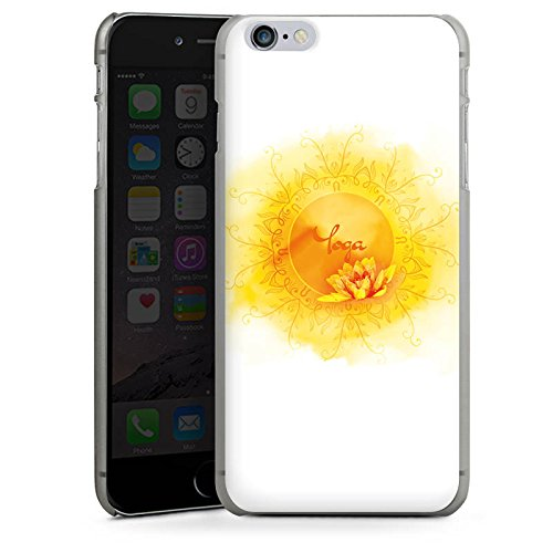 Apple iPhone 5c Silikon Hülle Case Schutzhülle Yoga Sport Hobby Hard Case anthrazit-klar