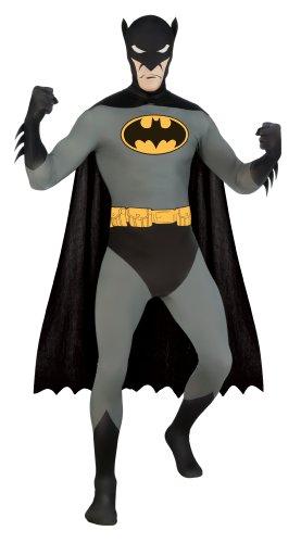 Rubie's 3 880519 L - 2nd Skin Batman Kostüm, Größe L