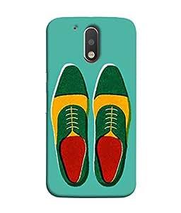 PrintVisa Boots 3D Hard Polycarbonate Designer Back Case Cover for Motorola Moto G4 :: Moto G (4th Gen)