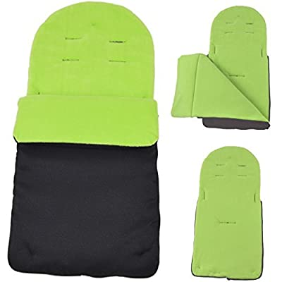 Footmuff / Cosy Toes Compatible with Maclaren Techno XT/ Quest / XLR / Volo Lime by For-Your-Little-One Ltd