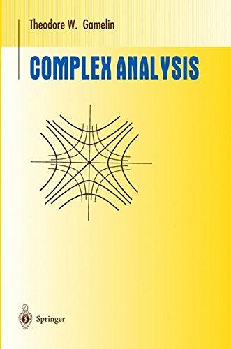 Complex Analysis (Undergraduate Texts in Mathematics) par T.W. Gamelin