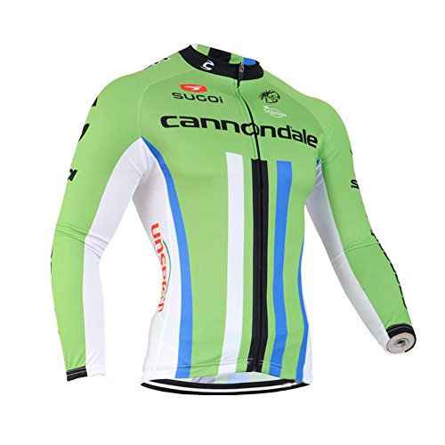 Strgao 2016 Herren Winter Radtrikot Pro Team Cannondale MTB Thermal Langarm Radjacke Radfahren Oberteil (Pro Thermal Tight)