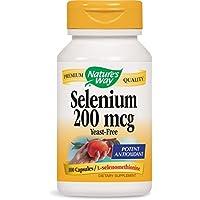 Sélénium Nature's Way 200mcg, 100gélules