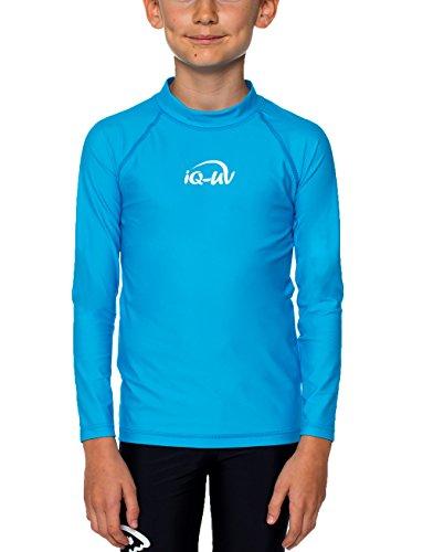 iQ-UV 300 Kinder, Langarm, Uv-Schutz T-Shirt, Türkis (Hawaii), 140/146