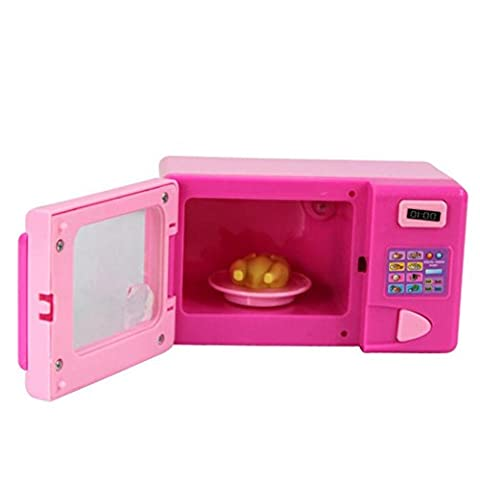 Household Playsets Toys, Bestow Children Kid Pretend Play Toys Developmental Educational Pretend Play Home Appliances Kitchen Toy Gift (Microwave oven)