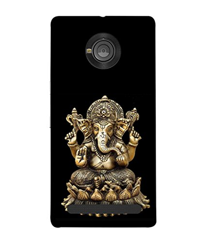 Printfidaa Vinayaka Print Designer Back Cover for YU Yuphoria, YU Yuphoria YU5010