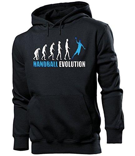 HANDBALL EVOLUTION 742(HKP-SW-Blau) Gr. XL Schwarz / Blau