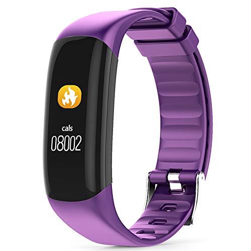 GLDMT P7 Smart Bracelet Color Screen Heart Rate Blood Pressure Sports Step...