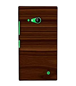 For Nokia Lumia 730 - D1246 :: Printed 3D Designer Back Cover; Printed Designer Case with Perfect Fit; Pattern Case for Your Smartphone