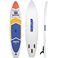 QUIMICAMP - Tabla de Paddle Surf hinchable, 15cm de espesor, incluye remo, bolsa