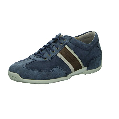 Camel Active Space 27, Sneakers Basses Homme Bleu (Navy/Jeans Kombi 01)