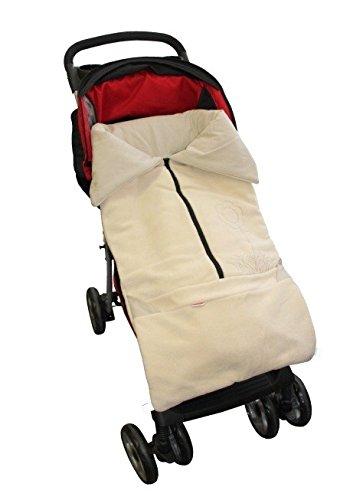 ByBoom® – Saco abrigo, Saquito l 2 en 1 verano para el asiento del bebé; Universal para coches, asiento de coche, por…
