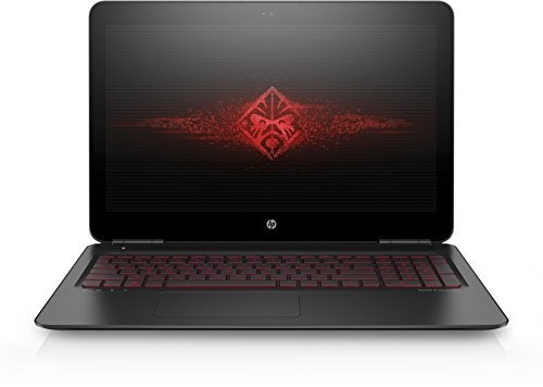 OMEN by HP (15-ax007ng) 39,6 cm (15,6 Zoll / FHD IPS UWVA) Gaming Notebook (Intel Core i7-6700HQ), 16 GB RAM, 2 TB HDD, 128 GB SSD, NVIDIA GeForce GTX 965M, Windows 10) schwarz