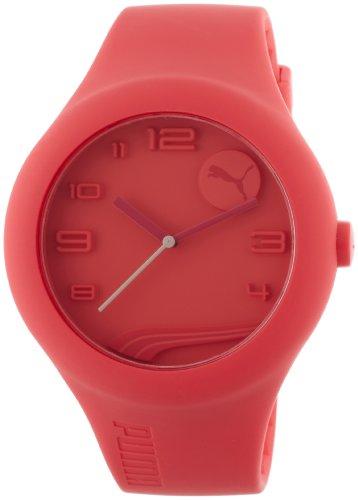 Puma PU103211003 - Orologio da polso unisex, plastica, colore: rosso