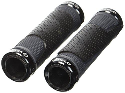 Vélo D3-Alu Poignée à visser 130 mm Noir / Gris