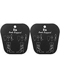 Footful 1 paire Embauchoirs à Bottes Enroulable Support Plastique - Noir