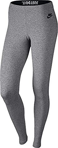 Nike Leg A See Just Do It Tights Oberbekleidung, Grau, S
