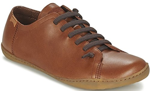 Tan-trainer (CAMPER Peu Cami 17665 Tan Mens Leather Lo Trainers Shoes-44)