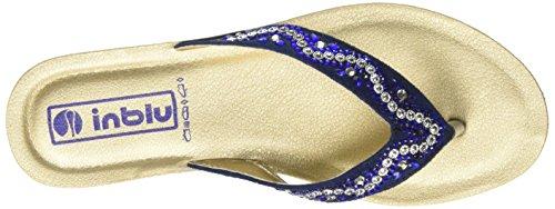 Inblu Damen Bamby Flops Blau (blu)