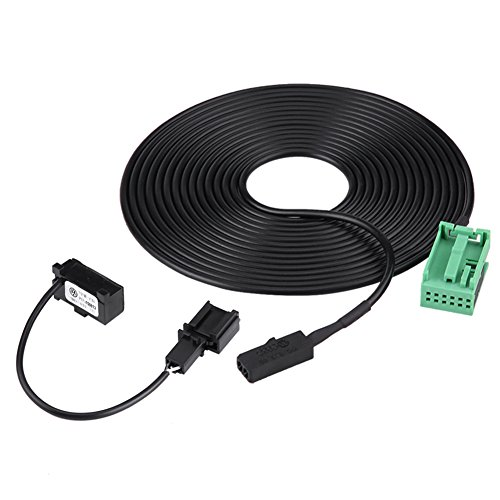Mikrofon Kabelbaum,Bluetooth Wring & Mikrofonkabel Adapter Kit für RNS 315 Bluetooth 1J0 973 332