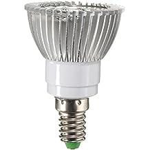 farwind AC90–260V, 4W E1412rojo 6LED azul luz de crecimiento lámpara de plantas de jardín invernadero planta Seedling de luz