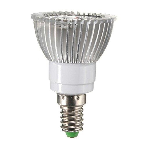 farwind AC90–260V 4W E1412rot 6blau LED Grow Licht Pflanzenlampe Garten Gewächshaus Plant Sämling,