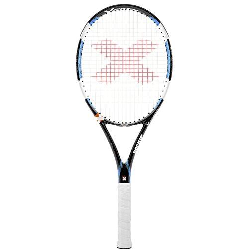 pacific Tennisschläger BX2 X FAST LT - bespannt mit Hülle, schwarz/ chrom blau, 1: (4 1/8), PC-0062-13.01.11