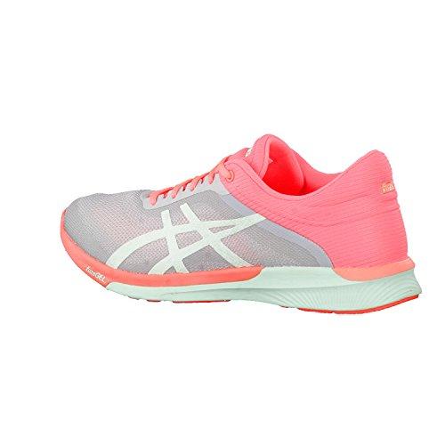 Asics Fuzex Rush, Chaussures de Course Femme Multicolore (Midgrey/bay/flash Coral)