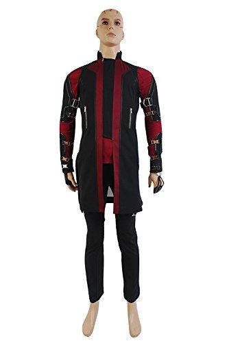 Avengers: Age of Ultron Clint Barton Hawkeye Uniform Cosplay Kostüm Herren (Hawkeye Kostüm Halloween)