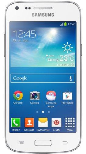Samsung Galaxy Core Plus Smartphone (10,9 cm (4,3 Zoll) TFT-Touchscreen, 5 Megapixel Kamera, WiFi, NFC, S Beam, Android 4.2.2) weiß -