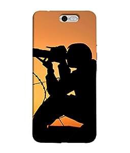 PrintVisa Designer Back Case Cover for InFocus M812 (Black Camera Shutterbugs Dusk Dawn)