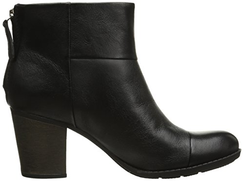 Clarks Enfield Tess Boot Black Smooth Leather