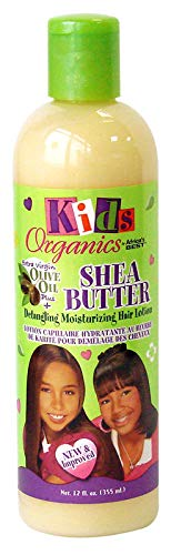 Africa 's Best Organics Kids Shea Butter Detangling Moisturizing Hair Lotion mit Olivenöl 12oz/355ml
