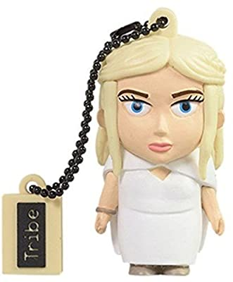 Tribe Games of Thrones Pendrive Figure 16 GB USB 2.0 Flash Drive with Key Holder Keyring - Aria