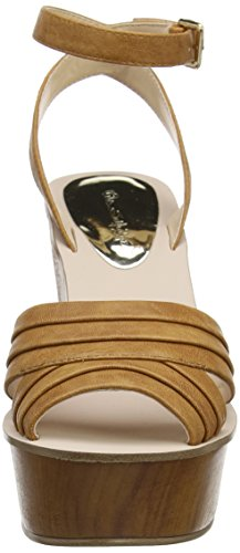 Miss Selfridge - Wedge, Strap alla caviglia Donna Brown (Tan)