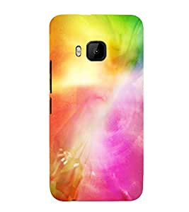 MODERN ART SMOKY PATTERN OF MIST 3D Hard Polycarbonate Designer Back Case Cover for HTC One M9 :: HTC M9 :: HTC One Hima