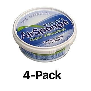 Environmental Air Odor Sponge Smell Absorber Pet Cat Dog Tobacco Mildew (4-Pack)
