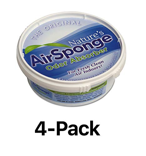 Environmental Air Odor Sponge Smell Absorber Pet Cat Dog Tobacco Mildew (4-Pack) -