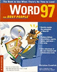 [(Word 97 for Busy People)] [By (author) Christian Crumlish] published on (March, 1997)