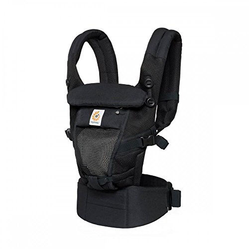 Ergobaby Adapt Cool Air - Mochila portabebés, color negro
