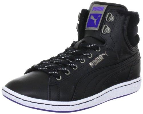 Puma First Round Winterized wms 354931, Sneaker donna Nero (Schwarz (black-white-spectrum blue 02))