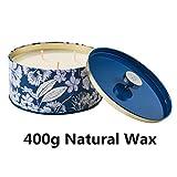 Duftkerze Soja Kerze Groß 400g 3 Dochte, Baumwolle Duft Natürliches Aromatherapie Mama - 6