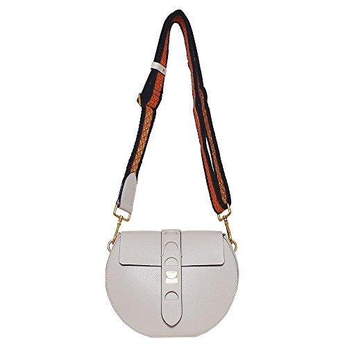 Coccinelle Cross-Over-Bag Carousel Vitello Mini 15C6 Seashell
