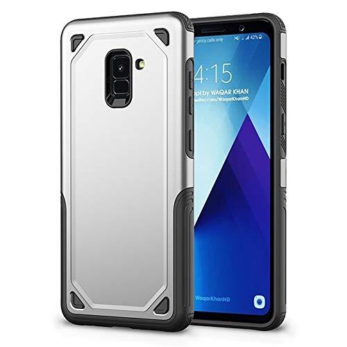 DoubTech Cover Samsung Galaxy J6 2018 Custodia Protezione Ibrida TPU Morbido PC Processo Micro-Opaco vestibilità Slim Stile Robusto sweatproof Anti Scivolo Rinforzo Bordo Antiurto Cassa