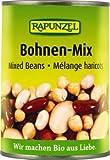 Rapunzel Bohnen Mix in der Dose, 4er Pack (4 x 400g) - Bio